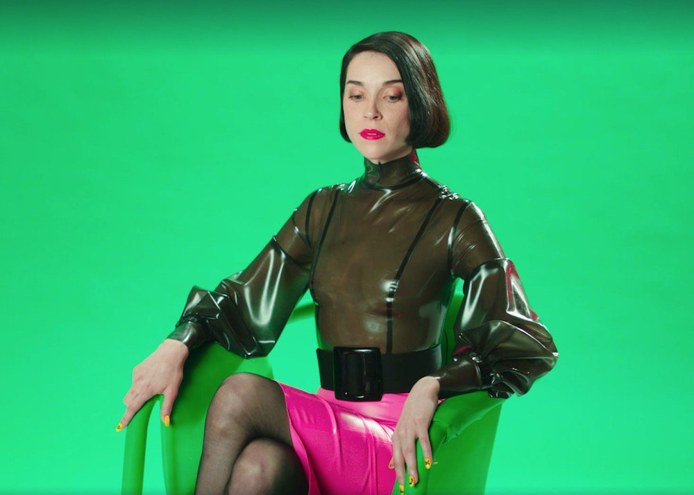St Vincent Annie Clark Latex