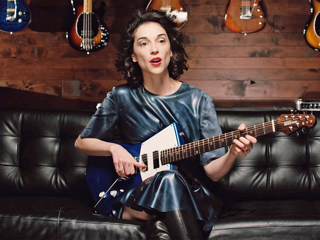 st-vincent-latex-guitar